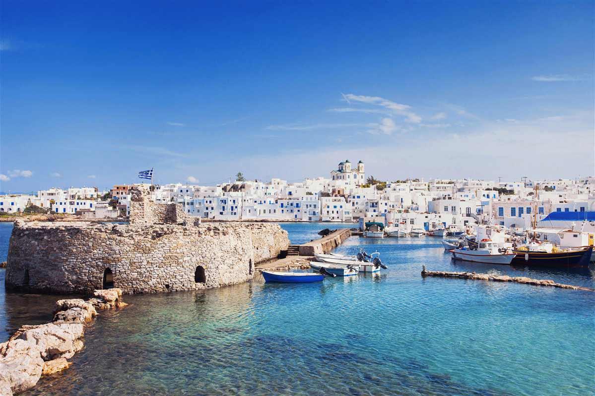 beach in cyclades