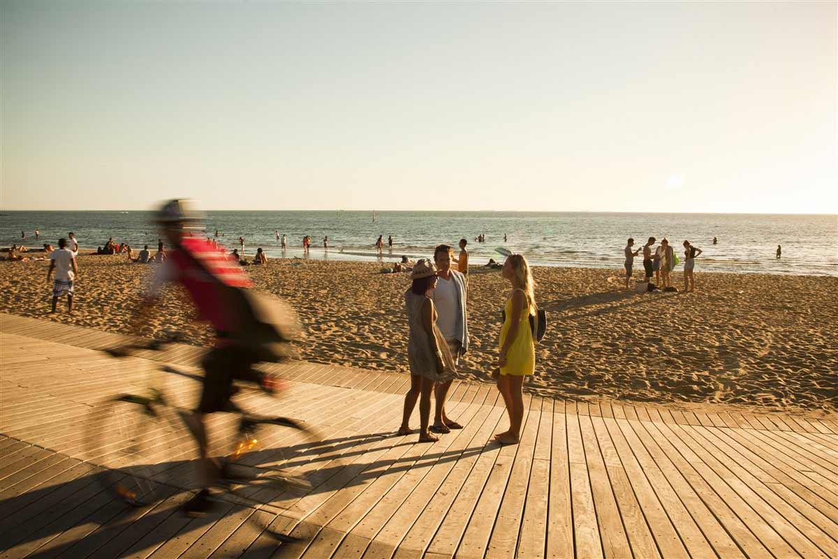 beach of melbourne