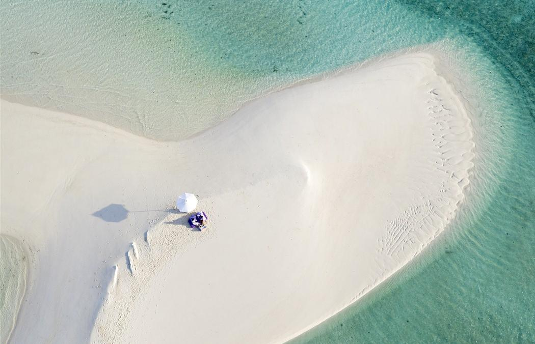 Top five most beautiful beaches in the Maldives