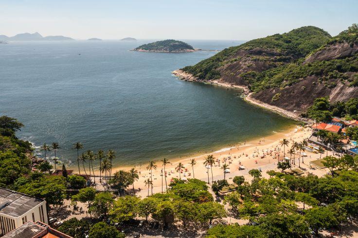 Vermelha Beach - Rio de Janeiro - Brazil