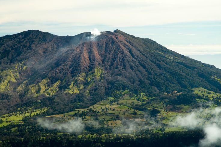 Irazu Volcano National Park - Costa Rica