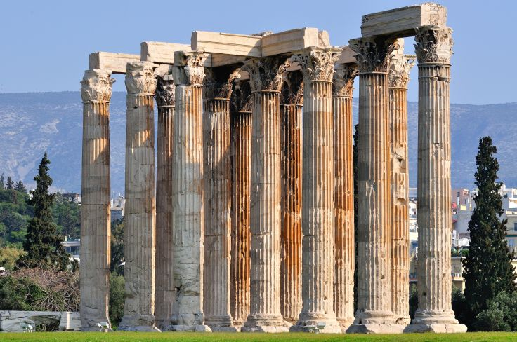 Temple of Zeus - Athens - Greece