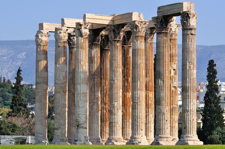 Temple of Zeus - Athens - Greece
