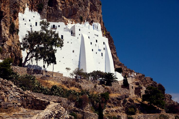 Monastery - Amorgos - Cyclades - Greece