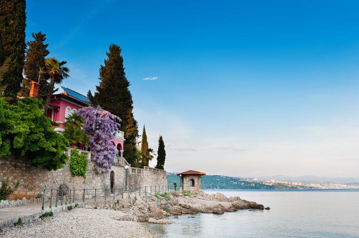 View of the Adriatic - Opatija - Croatia