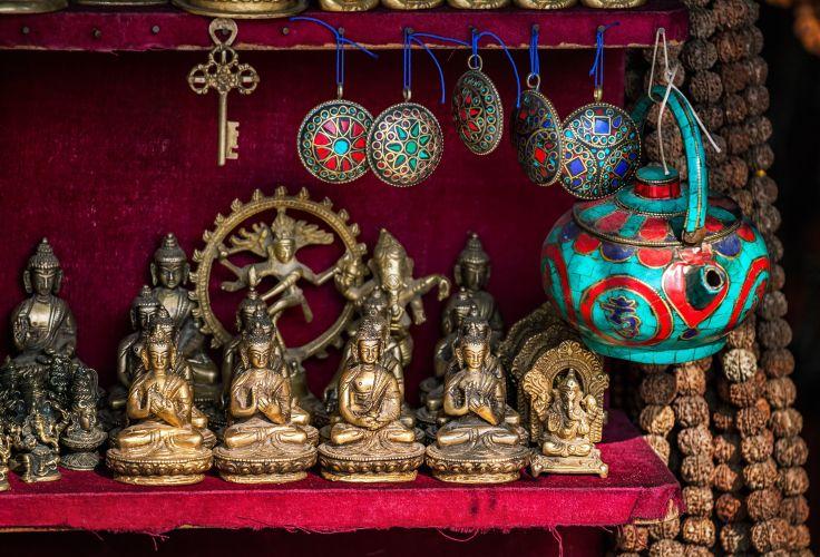 Tibetan Market in Delhi - National Capital Territory of Delhi - India