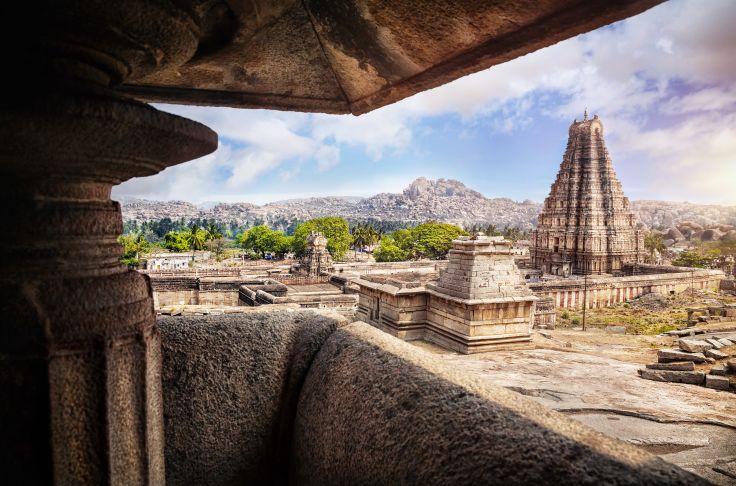 Virupaksha temple - Karnataka - India
