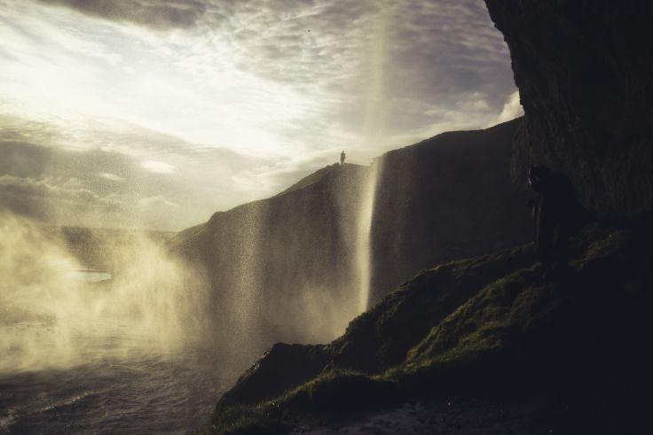 Waterfall Seljalandsfoss - Iceland