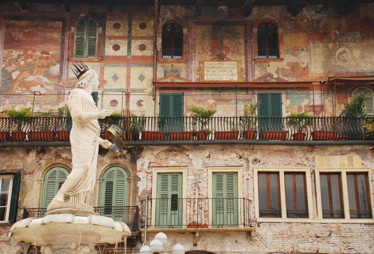 Madonna Verona and Casa Mazzanti - Verona - Italy