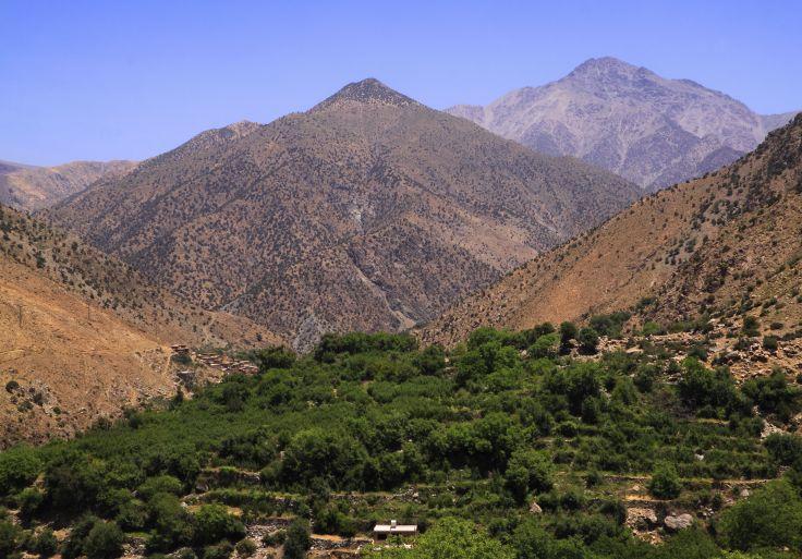 National Park of Toubkal - High Atlas - Al Haouz - Morocco