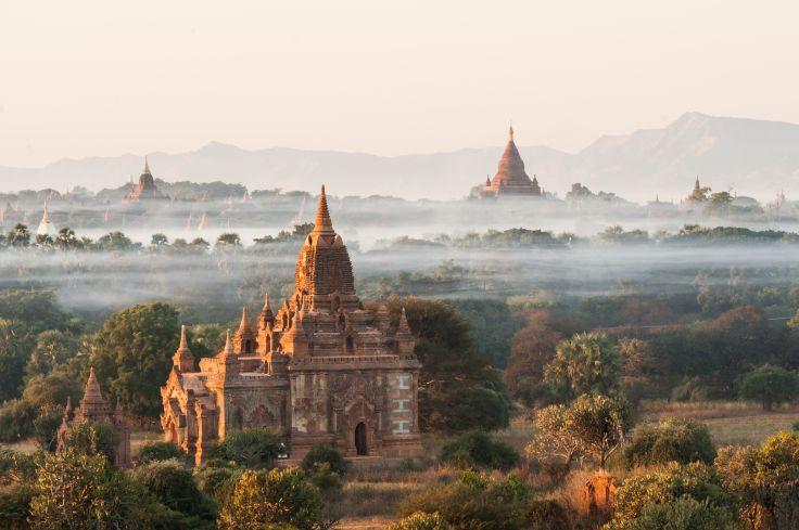 Shwesandaw Pagoda - Pagan - Burma