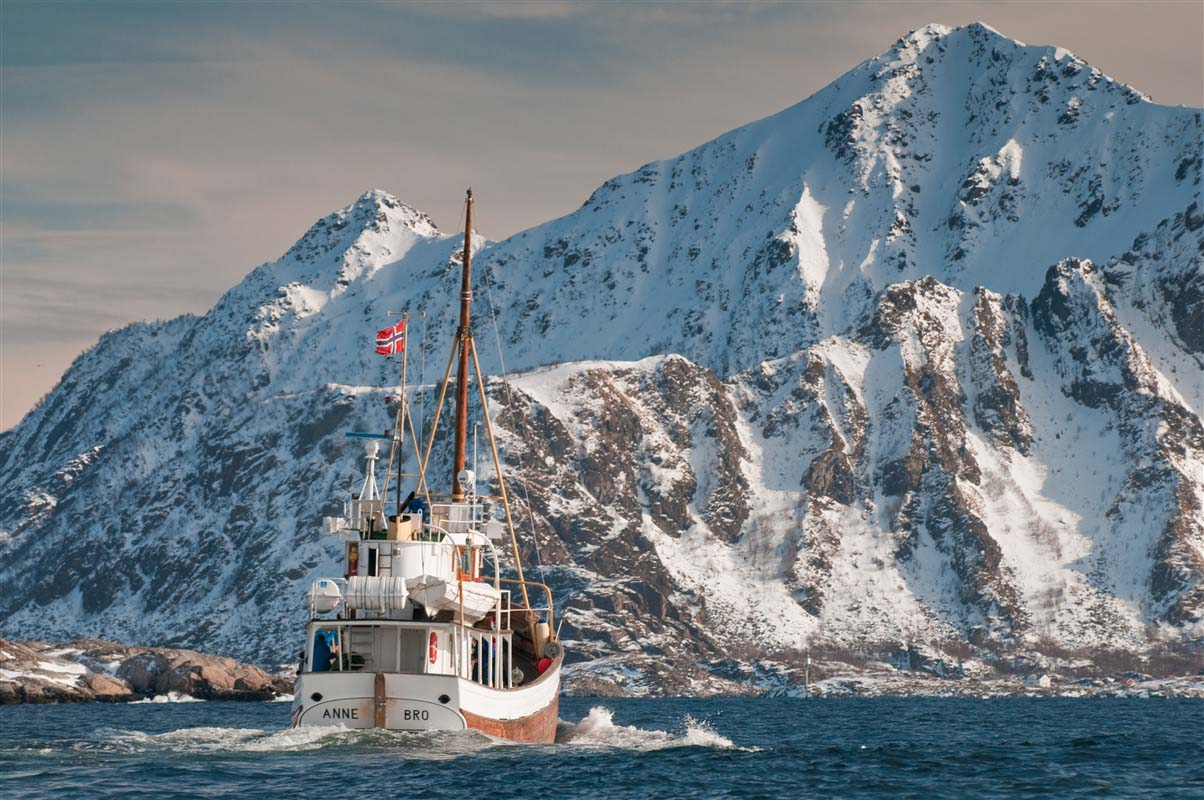 Bateau de pêcheur - Lofoten - Norvège