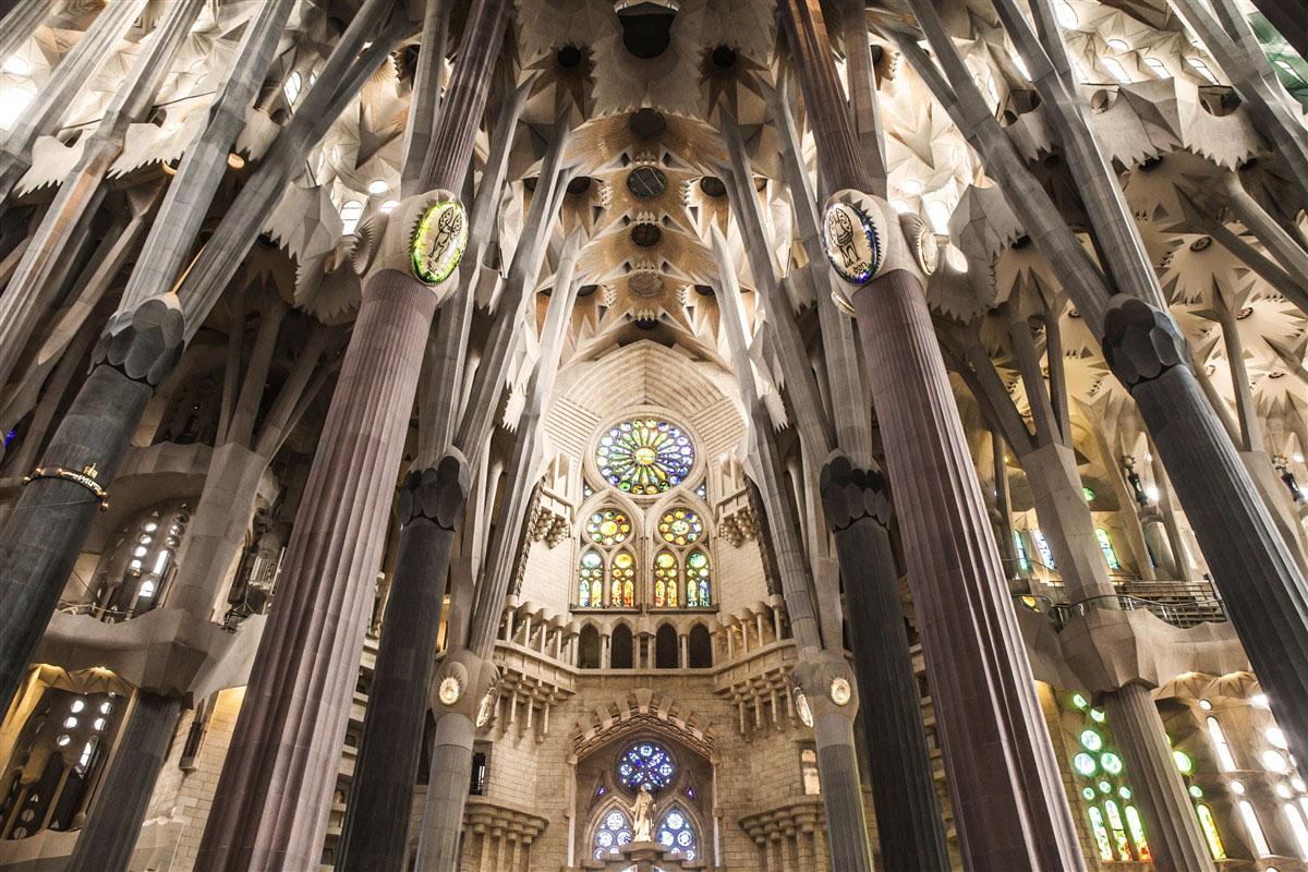 Sagrada Familia - Barcelone - Catalogne - Espagne