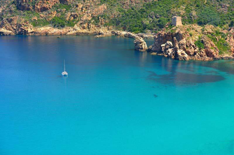 Baie de Girolata - Corse - France