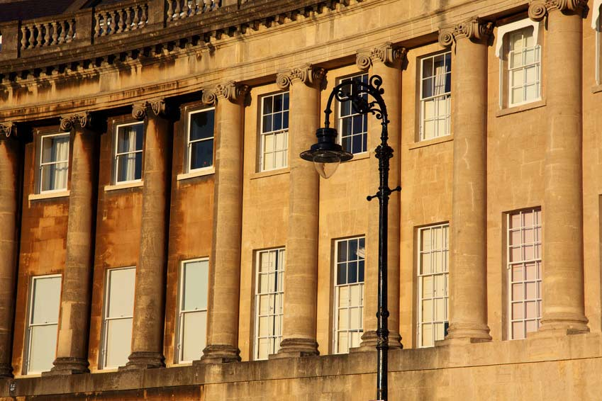 Royal Crescent - Bath - Somerset - Angleterre