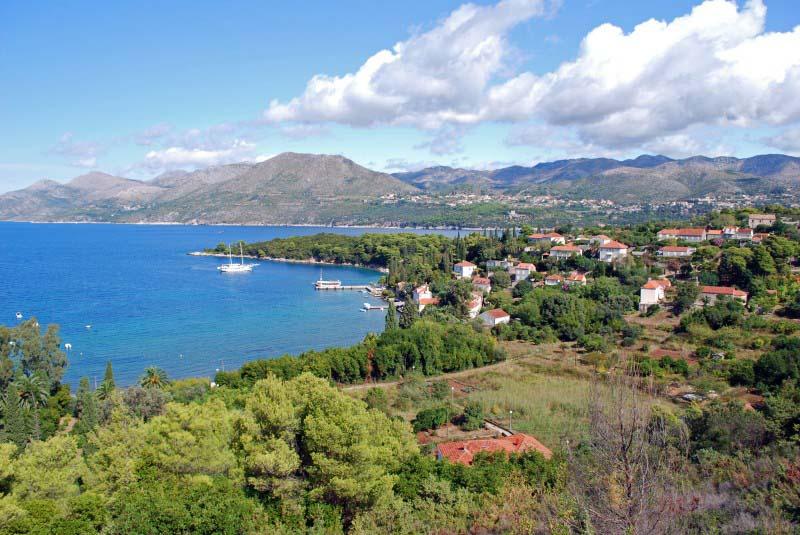 Ile Kolocep - Archipel des Elaphites - Croatie