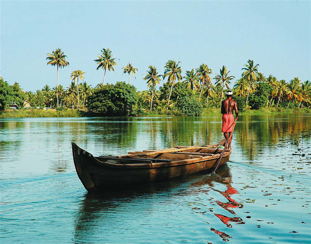 Backwaters - Kerala - Inde