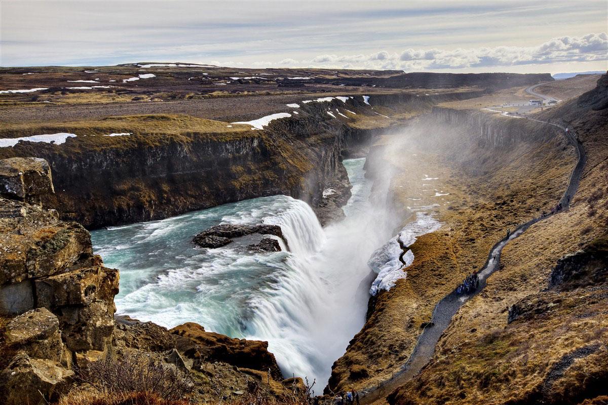 Chutes de Gullfoss - Islande