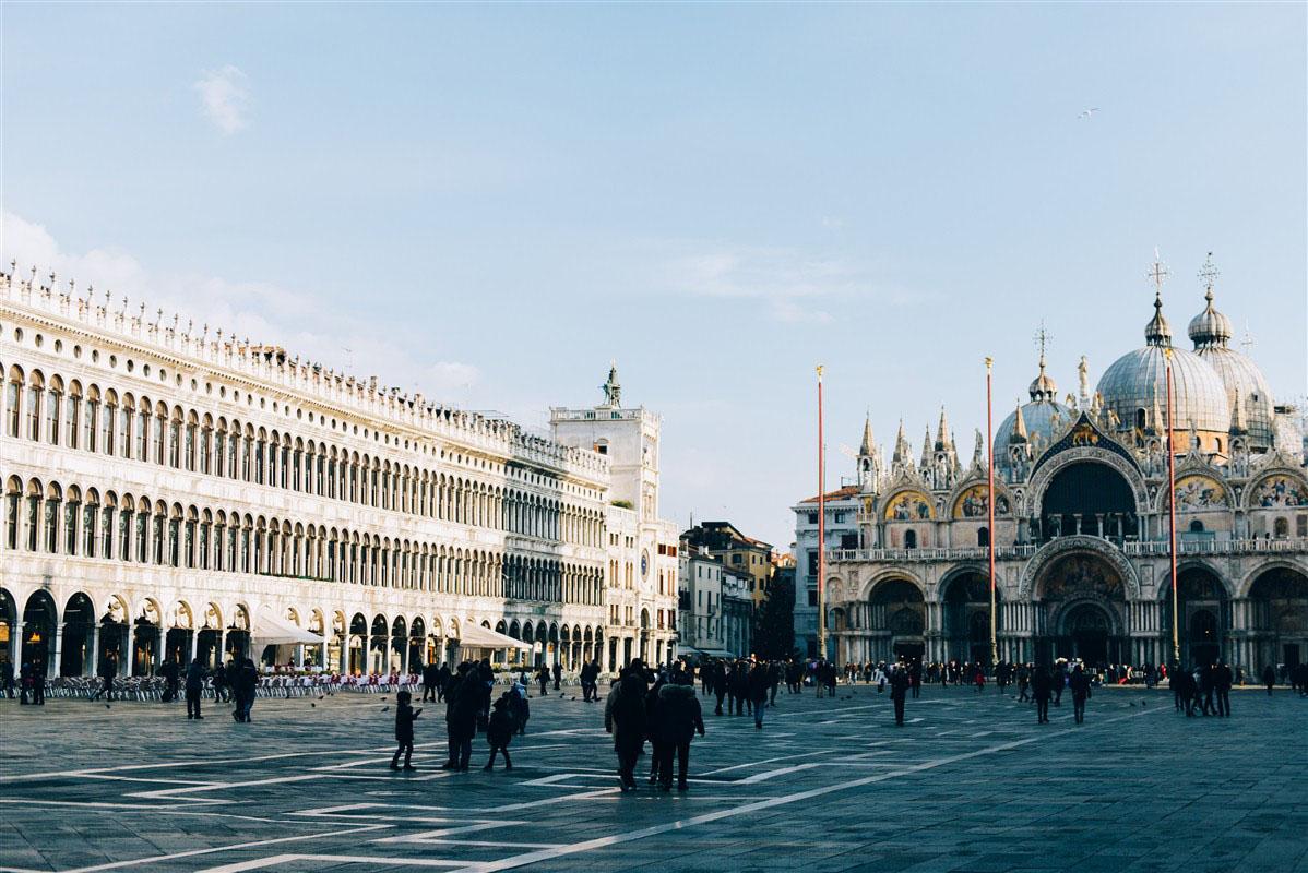 Place Saint-Marc - Venise - Vénétie - Italie