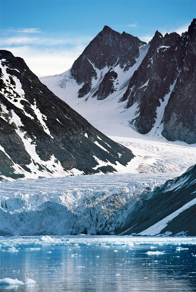 L'archipel du Svalbard, recouvert à 60% de glace - Norvège