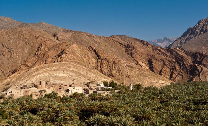 Jabal al Akhdar - Massif du Hajar - Oman