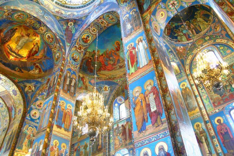 Église du Saint Sauveur sur le Sang Versé - Saint Petersbourg - Russie