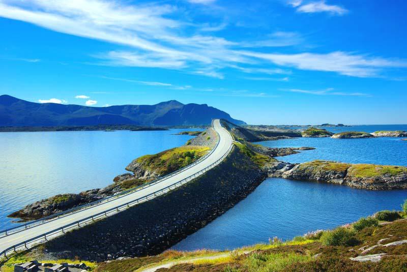Atlanterhavsvegen - Norvège