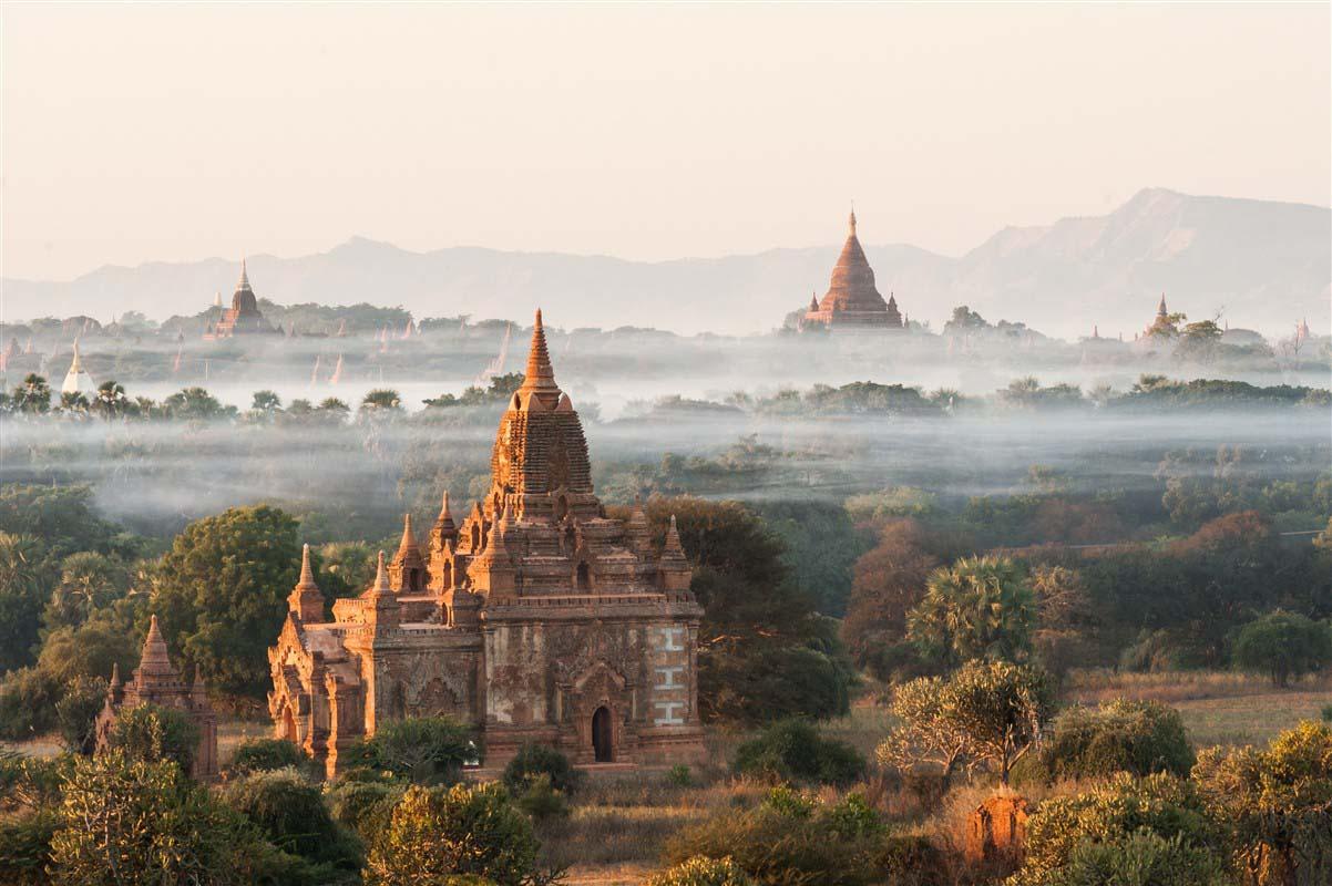Pagode Shwesandaw - Pagan - Birmanie