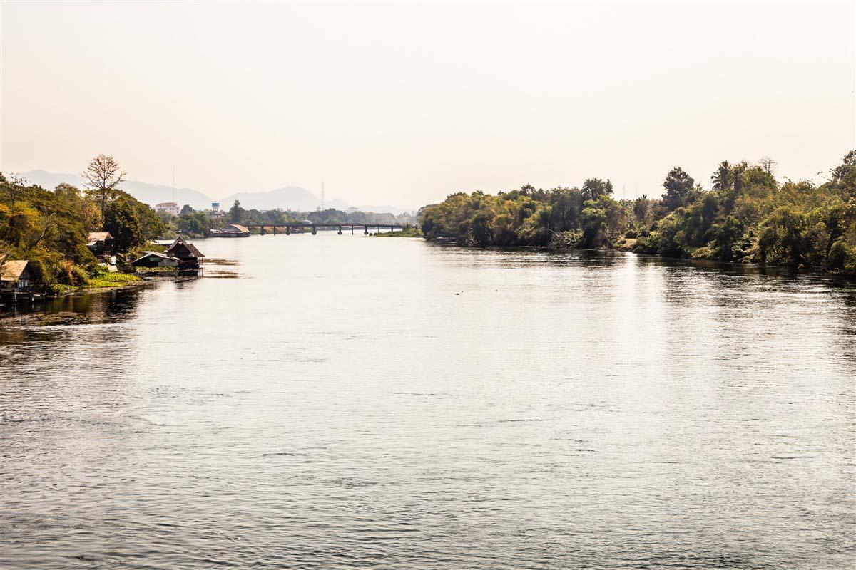 Rivière Kwai - Kanchanaburi - Thaïlande