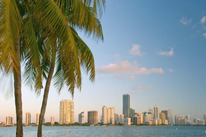 Baie de Biscayne - Miami Beach - Etats-Unis