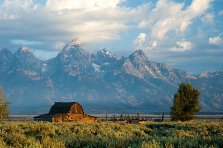 National Park Grand Teton - Wyoming - United States